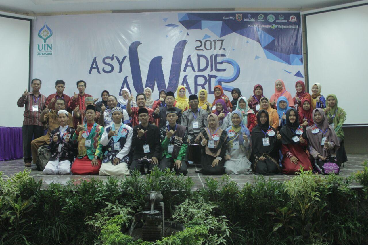 Selamat Kepada Pemenang Asywadie Award 2 Tahun 2017