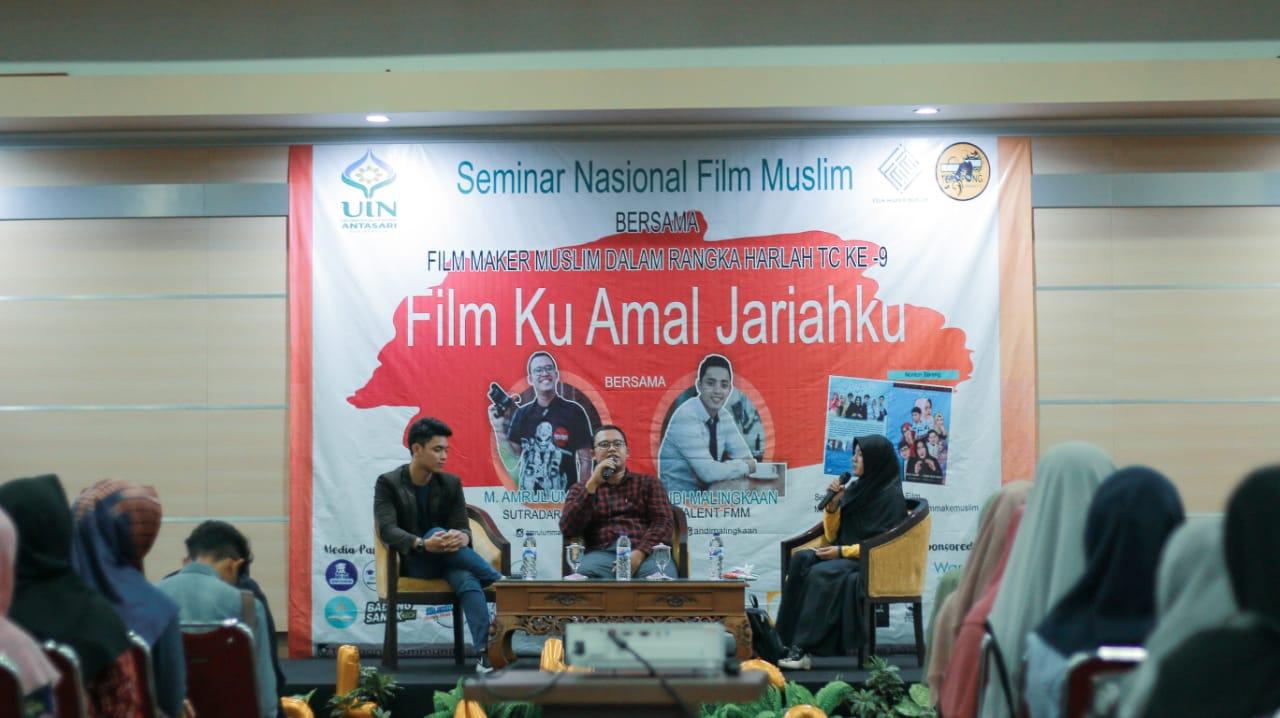 Seminar Nasional Film Muslim dalam Rangka Ulang Tahun Teropong Community