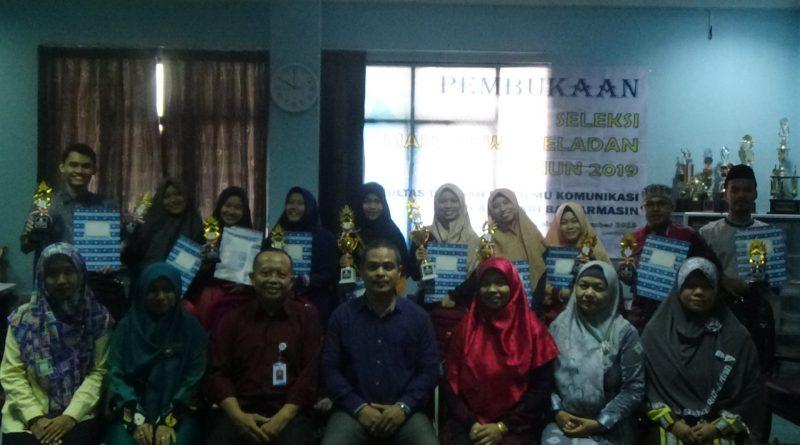 Pengumuman Pemenang Seleksi Mahasiswa Teladan FDIK Tahun 2019