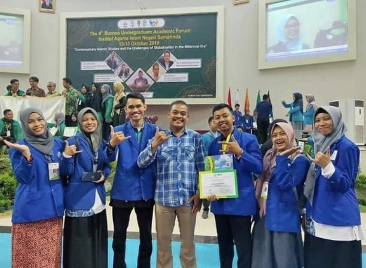 6 Mahasiswa FDIK berpartisipasi dalam The 4th Borneo Undergraduate Academic Forum (BUAF) 2019 di IAIN Samarinda