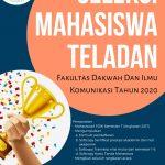 PENGUMUMAN SELEKSI MAHASISWA TELADAN TINGKAT FAKULTAS DAKWAH DAN ILMU KOMUNIKASI TAHUN 2020